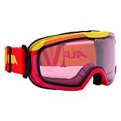 Очки горнолыжныеОчки горнолыжные<br>Комфортная легкая горнолыжная маска, которая станет отличным выбором для катания в облачную погоду. Она защитит вас от яркого света, снега и сильного ветра. Линза маски абсолютно не пропускает коротковолновое ультрафиолетовое излучение, как раз то, которое наносит вред сетчатки глаз. При этом обеспечивает естественную светопередачу, высокую контрастность, а за счет правильной геометрии ? широкий угол обзора. В этой маске вы будете заблаговременно замечать коварные опасности склона и получать максимальное удовольствие от катания, но и от окружающей панорамы.<br>Оправа со стороны лица имеет слой вспененного материала, который, деформируясь, принимает форму лица. Таким образом, достигается плотное прилегание маски, равномерное давление и исключение болевых точек.<br>Вентиляционные отверстия в оправе обеспечивают циркуляцию воздуха, что предотвращает запотевание линзы.<br>Угол обзора более 180 градусов.<br>Ремешок крепится на подвижных шарнирах с внешней стороны рамы, благодаря чему маску гораздо удобнее использовать совместно со шлемом.<br>Специальное противоскользящее покрытие с внутренней поверхности ремешка, предотвращает соскальзывание со шлема<br><br>Пол: Унисекс<br>Возраст: Взрослый