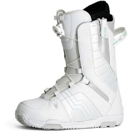 Купить Ботинки для сноуборда NIDECKER 2010-11 EDEN EZ LACE white-light blue 695498
