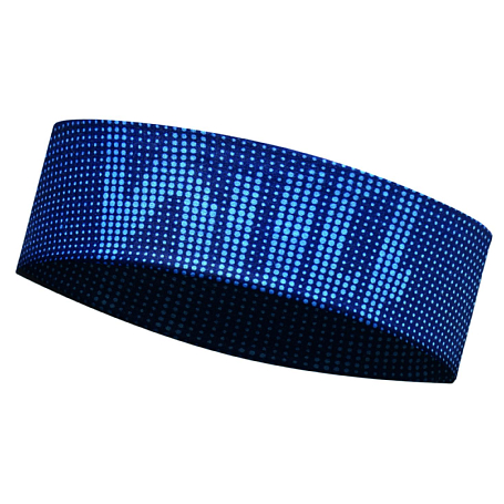 Купить Повязка BUFF Headband DEEP LOGO DARK NAVY Банданы и шарфы Buff ® 1266807