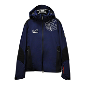 Куртка горнолыжная EA7 Emporio Armani 2017-18 SKI M JKT RACE 1 NIGHT BLUE
