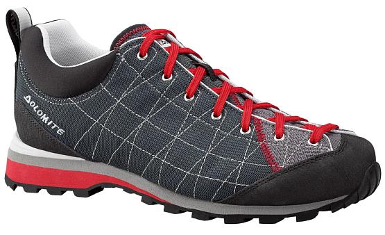 Купить Ботинки для хайкинга (высокие) Dolomite 2017-18 Diagonal Lite Anthracite/Steel Grey Треккинговая обувь 1331790
