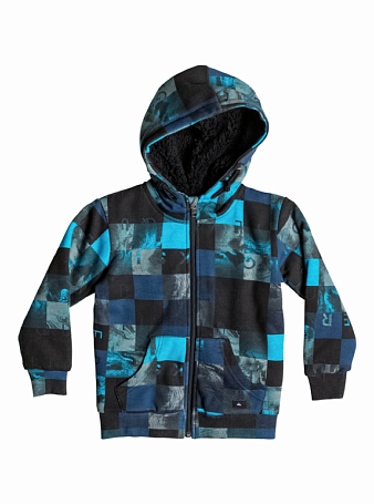 Толстовка сноубордическая Quiksilver 2015-16 ALLOVSHCHECKSBY K OTLR BP CHECKS DARK DENIM