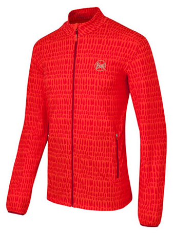 Флис для активного отдыха BUFF JACKET ALEKSY (GRENADINE) оранжевый