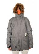 Куртка сноубордическаяОдежда сноубордическая<br>Влагонепроницаемость: 10000 мм,<br>Паропроницаемость: 10000 гр./ кв.м./24 ч ,<br>Утеплитель: 80/20 гусиный пух,<br>Полностью проклеенные швы,<br>Двусторонняя молния,<br>Вентиляция с сеточкой на молнии,<br>Съемная противоснежная юбка,<br>Внутренний карман для гаджетов и маски,<br>Регулируемый в двух направлениях капюшон,<br>Подкладка из тафты,<br>Съемный лисий мех на капюшоне.<br><br><br>Пол: Мужской<br>Возраст: Взрослый<br>Вид: куртка