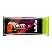 Батончик POWERUP Энергетический батончик FRUIT+NUTS 50г. финики, изюм, яблоко, корица, миндаль