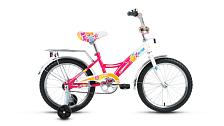 ВелосипедДо 6 лет (колеса 12-18)<br>ALTAIR City girl 18 &amp;nbsp;– детский велосипед с поддерживающими колесами для девочек.<br><br> Особенности:<br> <br> - подходит для детей от 5 до 7 лет ростом 105-130 см<br> - в комплекте съемные поддерживающие колеса, велобагажник, звонок и защита цепи<br> <br> Технические характеристики:<br> <br> Рама: Сталь Hi-Ten<br> Вилка: Жесткая &amp;nbsp;<br> Диаметр колес: 18&amp;nbsp;<br> Кол-во скоростей: 1&amp;nbsp;<br> Переключатель задний: нет<br> Переключатель передний: нет<br> Шифтеры: нет<br> Тип тормозов: ножные<br> Тормоза:&amp;nbsp;<br> Кассета: ножные<br> Подседельный штырь: Стальной, 28,6x300<br> Система: Cтальная хромированная<br> Покрышки: Wanda P1023, 18x2,125 (22tpi)<br> Вес: 11,1 кг