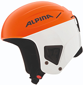 Зимний Шлем Alpina 2018-19 Downhill COMP orange-white