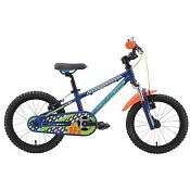 ВелосипедДо 6 лет (колеса 12-18)<br>Детский велосипед Silverback SPYKE 16 SPORT 2015. Велосипед оснащён алюминиевой рамой. Установлены жесткая вилка , ободные механические тормоза, а также начальное оборудование. Silverback SPYKE 16 SPORT 2015<br> <br> <br> Цепная передача<br> <br> Шатуны: Prowheel, Alloy/Steel, Square Taper, 32T, L: 102mm, Black<br> Кассета: DNP, 18T, Brown<br> <br> Колеса<br> <br> Обода: Weinmann TM19, Alloy, BlackRear: Steel, Adjustable cup and cone angular contact bearings, Black, Front: Steel, Adjustable cup and cone angular contact bearings, Black<br> Bтулка: Rear: Steel, Adjustable cup and cone angular contact bearings, Black, Front: Steel, Adjustable cup and cone angular contact bearings, Black<br> <br> Компоненты<br> <br> Передний тормоз: Silverback, Alloy Melt-Forged, V-Brake, Black w/ Alloy 3 Finger Levers<br> Задний тормоз: Silverback, Alloy Melt-Forged, V-Brake, Black w/ Alloy 3 Finger Levers<br> Седло: Silverback Comfort Fit<br> Подседельный штырь: Silverback, Alloy, ?27.2mm x 300mm; Black lathe shaft, Black bolt
