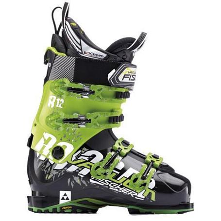 Купить Горнолыжные ботинки FISCHER 2013-14 Soma Vacuum Ranger 12 черн./зел., Ботинки горнoлыжные, 904030