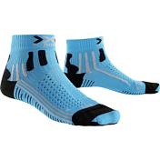 Носки X-bionic 2017 Effektor Running Short Lady Голубой