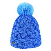 ШапкаГоловные уборы<br>Эта теплая шапка с помпоном из эко меха согреет в холодную погоду и придаст стиля вашему образу.<br><br>Материал: 100% акрил