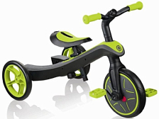 Беговел Globber Trike Explorer 2 in 1 2021 зеленый