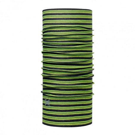 Купить Шарф BUFF Original Buff ORIGINAL YELLOW FLUOR STRIPES Банданы и шарфы ® 1263294