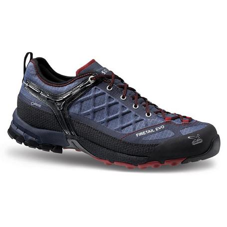 Купить Треккинговые кроссовки Salewa Tech Approach MS FIRETAIL EVO GTX Blue Jeans/Red Треккинговая обувь 1015553