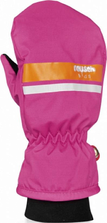 Варежки REUSCH 2015-16 Kids Mitten hot pink / orange popcicle
