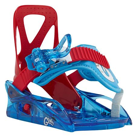 Купить Сноуборд крепления BURTON 2015-16 GROM RED/BLUE, крепления, 1209263