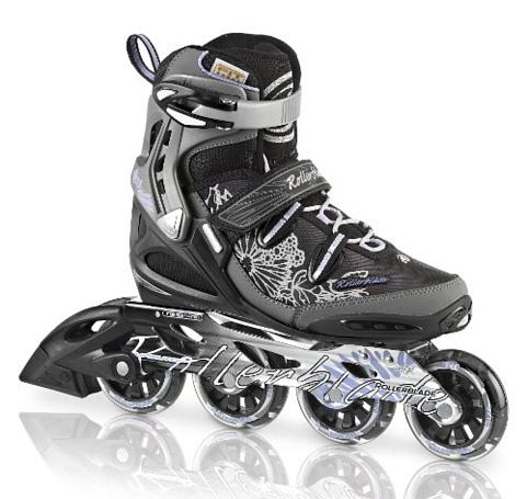 Купить Роликовые коньки Rollerblade 2013 SPARK 80 ALU W, Ролики детские, 904746