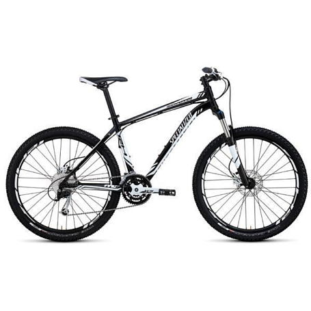Велосипед SPECIALIZED ROCKHOPPER BLK/WHT/WHT