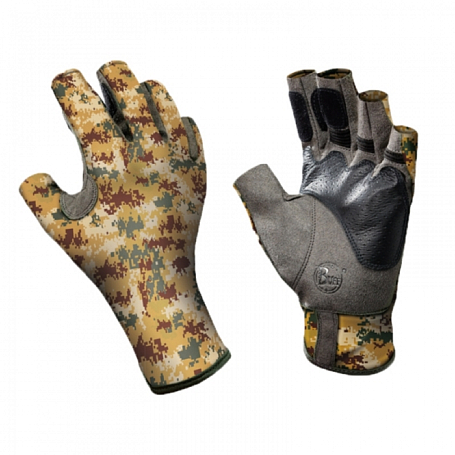 Перчатки рыболовные BUFF Angler Gloves BUFF ANGLER II GLOVES BUFF PIXELS DESERT S/M