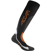 Носки Accapi 2020-21 Ski Perforce Black/Orange