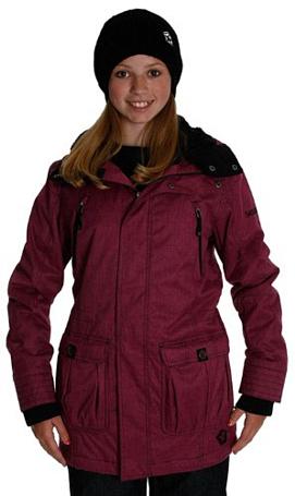 Купить Куртка сноубордическая SESSIONS 2012-13 Ridgeline Heather Jacket Pink Одежда 825078