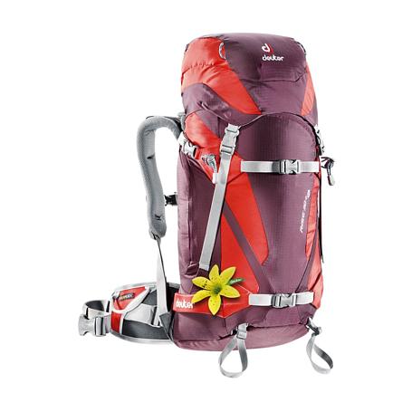 Купить Рюкзак Deuter 2015 Alpine Winter Rise 30+ SL aubergine-fire Рюкзаки для фрирайда 1086953