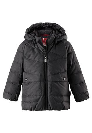 Купить Куртка горнолыжная Reima 2017-18 Latva Dark melange grey, Детская одежда, 1351620