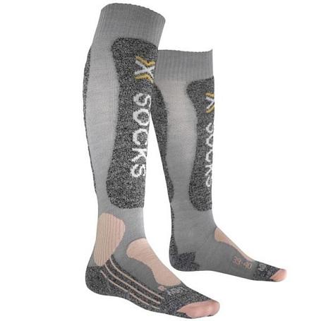 Купить Носки X-Bionic 2016-17 X-SOCKS SKIING LIGHT LADY G327 / Серый 1277634