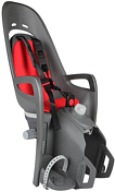 Детское велокресло Hamax 2021 Zenith Relax With Carrier Adapter Grey/Red