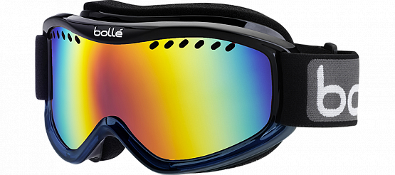 Очки горнолыжные Bolle 2015-16 CARVE BLACK BLUE FADE/SUNRISE