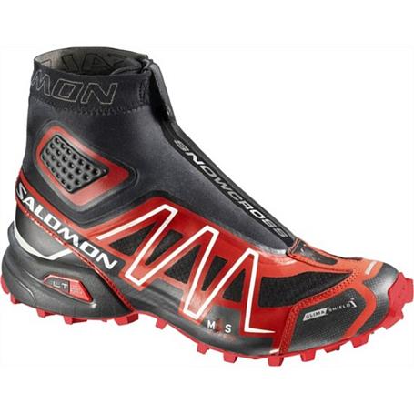 Купить Беговые кроссовки для XC SALOMON 2014 Trail running SNOWCROSS CS M black/bright red/cane Кроссовки бега 1150057