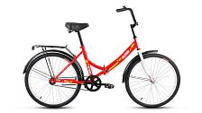 ВелосипедСкладные велосипеды<br>Складной велосипед ALTAIR City 24 в новом дизайне 2017 года предназначен для езды по городу и неторопливых прогулок по паркам. Велосипед имеет надежный механизм складывания, что позволяет удобно хранить и перевозить его.<br> <br> <br> Особенности:<br> <br> С 2017 года велосипед выпускается в 4-х расцветках: белой, желтой, синей и красной. Ножной тормоз и одна скорость обеспечивают простоту настройки и обслуживания.&amp;nbsp;<br> Складной велосипед ALTAIR City 20 оснащен всем необходимым для комфортного и безопасного передвижения: стальными крыльями, багажником, подножкой, подпружиненным седлом и звонком.<br> <br> <br> Технические характеристики:<br> <br> Рама: Сталь Hi-Ten, Складная, 14<br> Вилка: Жесткая вилка<br> Диаметр колес: 24&amp;nbsp;<br> Кол-во скоростей: 1<br> Переключатель задний: -<br> Переключатель передний: -<br> Шифтеры: -<br> Тип тормозов: ножной&amp;nbsp;<br> Тормоза:&amp;nbsp;<br> Система: Golden Swallow GS-S112, стальная<br> Кассета: -<br> Покрышки: Wanda P1023, 24x1,95 (22tpi)