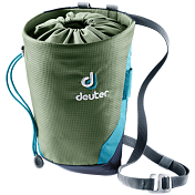 Мешок для магнезии Deuter 2018-19 Gravity Chalk Bag II L khaki-navy