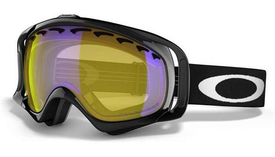 Купить Очки горнолыжные Oakley Crowbar jet black-hi amber polari 433258