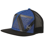 Кепка BUFF TRUCKER CAP OPTIC BLOCK CAPE BLUE