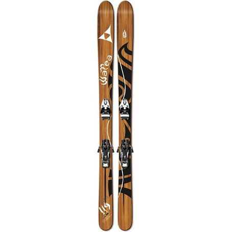 Купить Горные лыжи с креплениями FISCHER 2010-11 WATEA 114 BC TT+X 17 XFAT 130 (6-17) белый-черный 699402