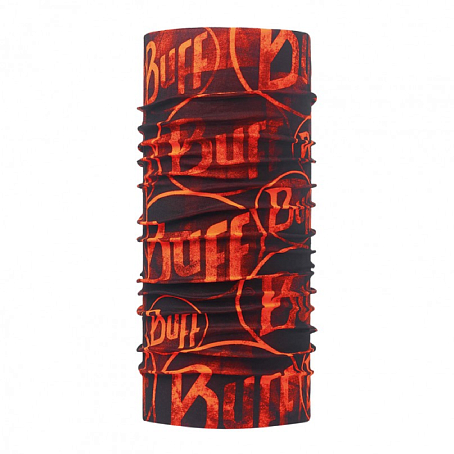 Купить Шарф BUFF Original Buff ORIGINAL MULTI LOGO ORANGE FLUOR Банданы и шарфы ® 1263282