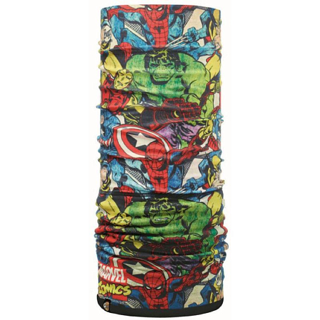 Купить Бандана BUFF Polar Buff SUPERHEROES POLAR FIGHTERS / BLACK Банданы и шарфы ® 1079090