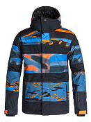 Куртка сноубордическая Quiksilver 2015-16 Fiction Jacket M SNJT SHOCKING ORANGE