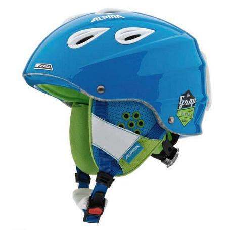 Купить Зимний Шлем Alpina ALL MOUNTAIN GRAP blue matt, Шлемы для горных лыж/сноубордов, 1131120