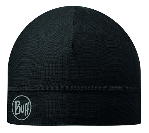 Купить Шапка BUFF MICROFIBER 1 LAYER HAT SOLID BLACK Банданы и шарфы Buff ® 1169173