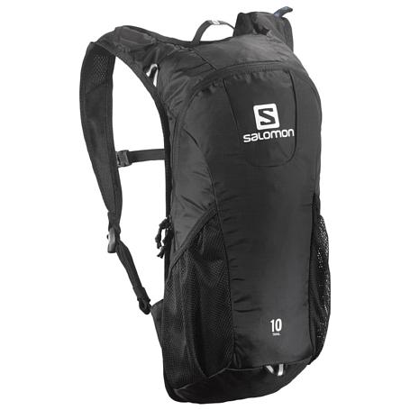 Купить Рюкзак SALOMON 2017-18 BAG TRAIL 10 Black Рюкзаки универсальные 1384383