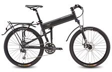 Велосипед MONTAGUE Paratrooper Pro 27 Speed 26  with RackStand 2017 Матовый черный