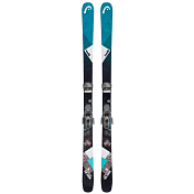 Горные лыжи с креплениями HEAD 2018-19 the Show+ATTACK² 11 GW BRAKE 90 [L] black/turquoise