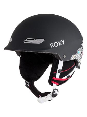 Купить Зимний Шлем ROXY 2016-17 POWER POWDER J HLMT KVJ8 HA-HUI_TRUE BLACK Шлемы для горных лыж/сноубордов 1309382