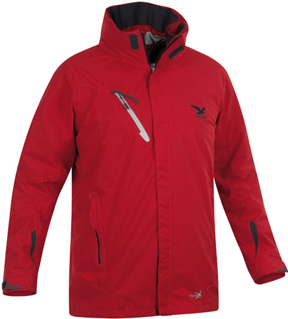 Куртка туристическая Salewa Alpine Active CATACOL PTX\PL M 2X JKT brick\i.0900 (темно-красный)