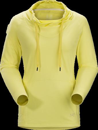 Купить Толстовка для активного отдыха Arcteryx 2016 Varana LS Shirt Womens Primro, Одежда туристическая, 1244761