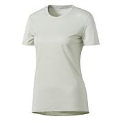 Футболка беговаяОдежда для бега и фитнеса<br>Легкая женская футболка из мягкого эластичного трикотажа. Спортивная модель выполнена из отводящей влагу ткани и украшена светоотражающими элементами.<br><br>Характеристики:<br><br>Ткань с технологией climalite® быстро и эффективно отводит влагу с поверхности кожи, поддерживая комфортный микроклимат<br>Светоотражающие элементы<br>Круглый ворот<br>Тонкий трикотаж: 100% полиэстер