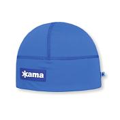 ШапкаГоловные уборы<br>Эластичная шапка для занятий активными видами спорта, с внутренней стороны изделия повязка, выполненная из нитей Thermolite для утепления.<br>Состав: 100% лайкра<br>Цвет: голубой
