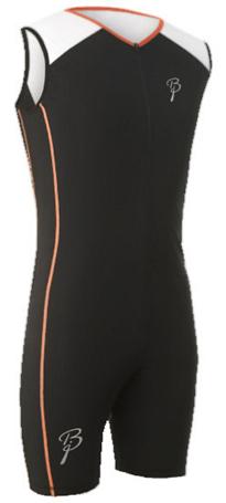 Купить Комбинезон беговой Bjorn Daehlie Racesuit FASTER One Piece Black/Bright White (Черный/Белый), Одежда для бега и фитнеса, 1022450